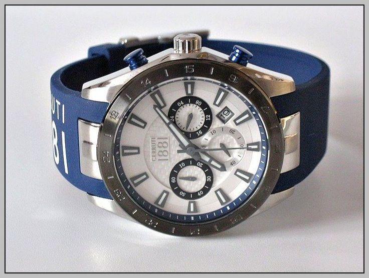 Cerruti 1881 Men S Chronograph Manufacturer List Price 239 Free Shipping Wolle Kaufen Ebay Uhren
