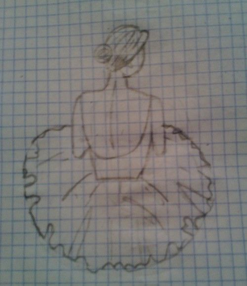 Dibujo---->bailarina ✿