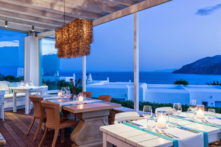 Getting ready for another amazing #dinner! #ArchipelagosMykonos #ArchipelagosLiving #restaurant #finedining