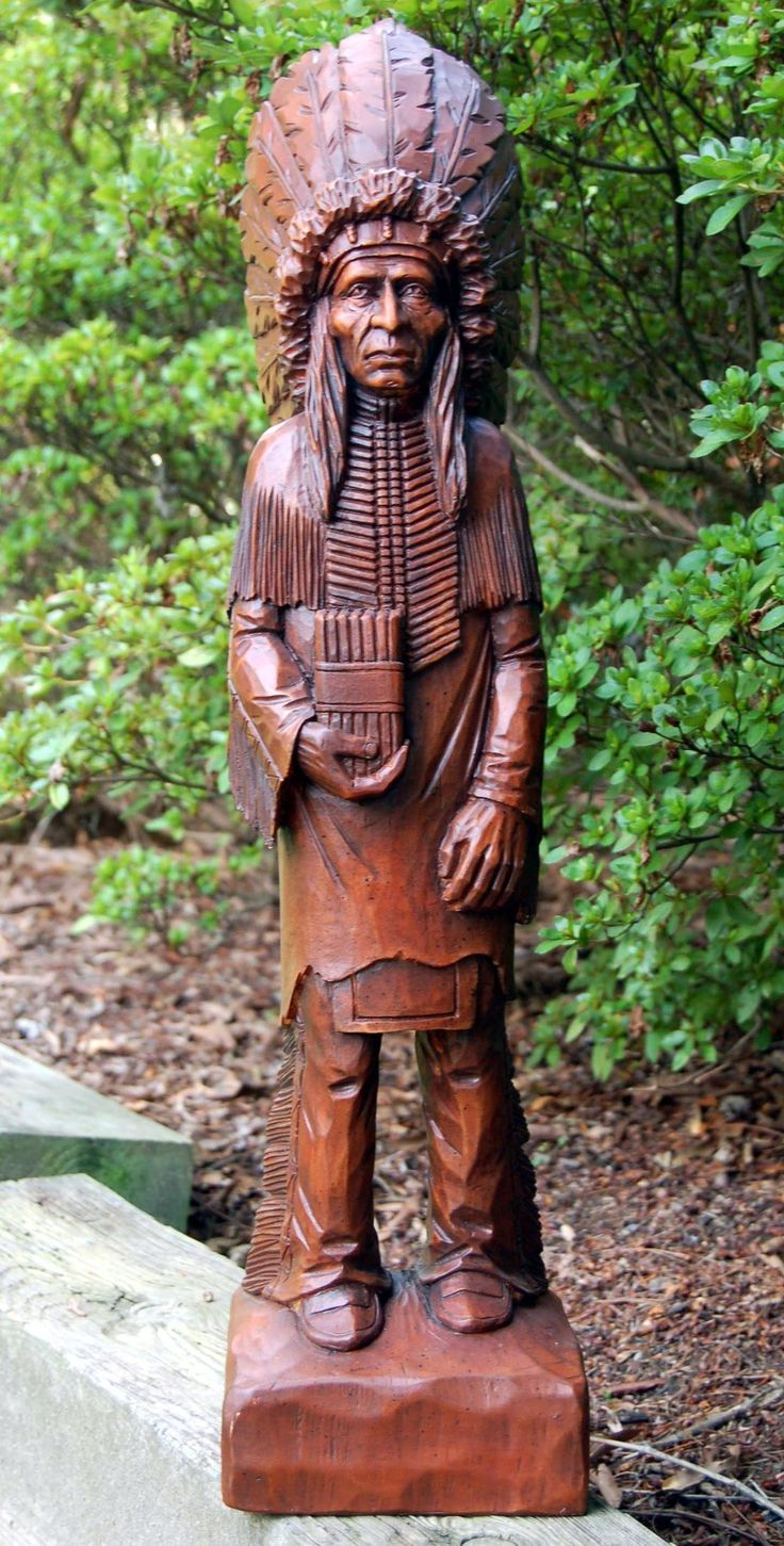Ideas about cigar store indian on pinterest wood