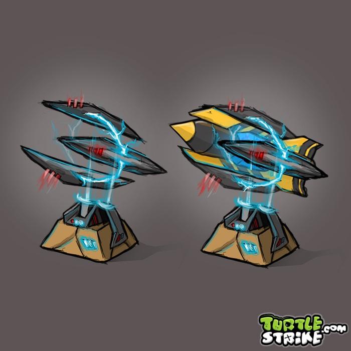 Futuristic Rocket Launchers Concept Art