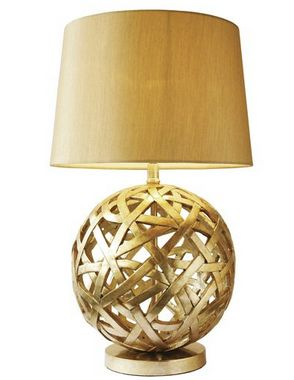 Celeste Table Lamp Gold - £95.00 - Hicks and Hicks