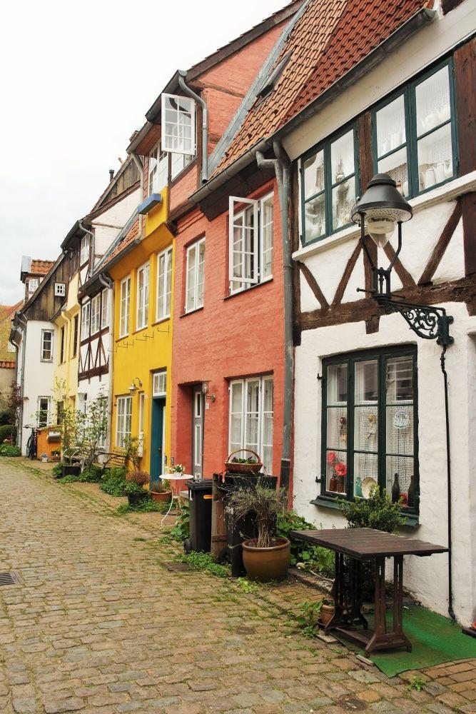 Ganghäuser und Handelshäuser in Lübeck