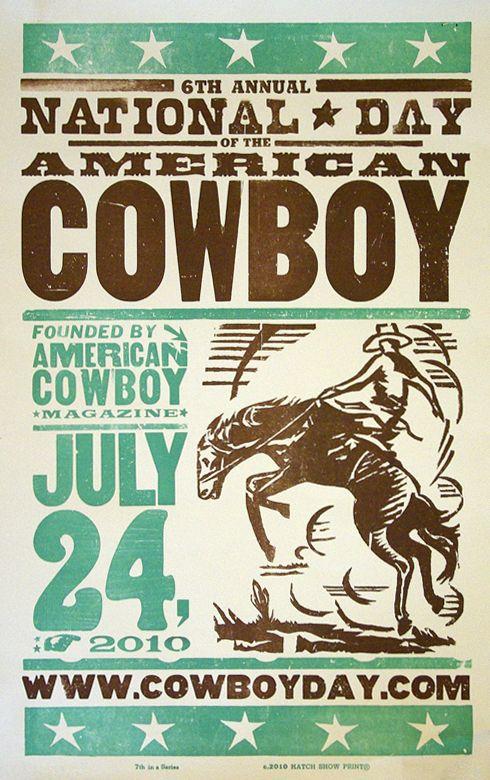 National Cowboy Day!?! lets celebrate! Long live cowboys!