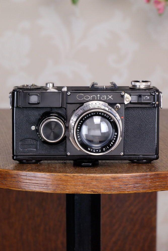 SUPERB! 1935 Zeiss Ikon Contax I, 35mm rangefinder, CLA'd, FRESHLY SERVICED! #ZeissIkon