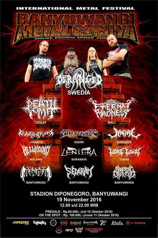 BANYUWANGI METAL GERILYA - International Metal Festival