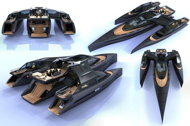 Amazing Yachts: The Horizon Yacht Concept designed by Barnaby Heseltine