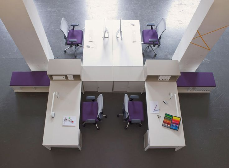 Haworth's Tibas desk system from the Haworth Design Studio | Haworth - Office Furniture and Adaptable Workplaces in Europe