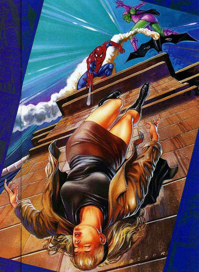 The Death of Gwen Stacy. I really want to read these issues, too bad there are impossible to find