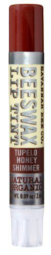 Savannah Bee Company Natural and Organic Tupelo Honey Shimmer Lip Tint, 0.09-Ounce - http://essential-organic.com/savannah-bee-company-natural-and-organic-tupelo-honey-shimmer-lip-tint-0-09-ounce/