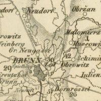 Staré mapy Moravy a města Brna