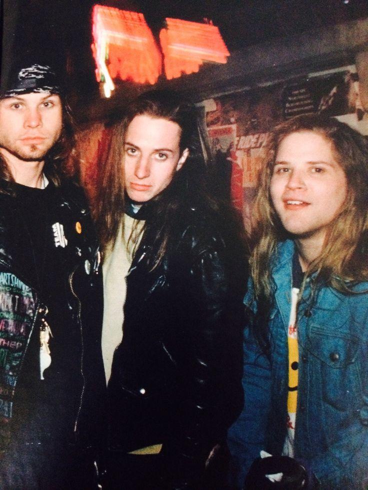 Jeff Ament, Stone Gossard & Andy Wood