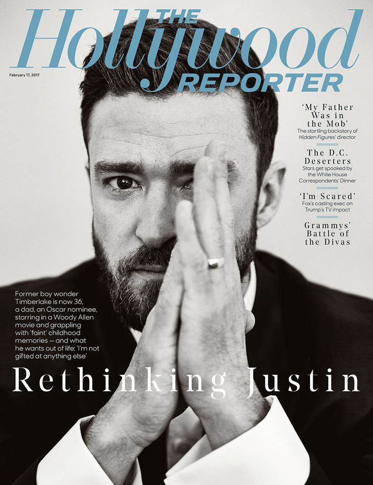 Justin Timberlake in Tom Ford outfit on the cover of The Hollywood Reporter  #tomford #justintimberlake #cover #photoshoot