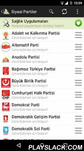 Political Parties In Turkey  Android App - playslack.com ,  Political Parties Information Political Parties application with the party who will take your Android device, and you can find detailed information about the 2015 elections the party. I think that is totally free of interest to all users interested in politics by the application presented to Android users. You can view applications by parties who will enter the 2015 elections, as well as one-touch express your party contact…