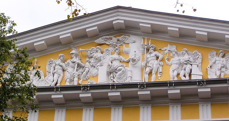 Адмиралтейство, 1806-23, Пименов, Демут-Малиновский, Анисимов и др.