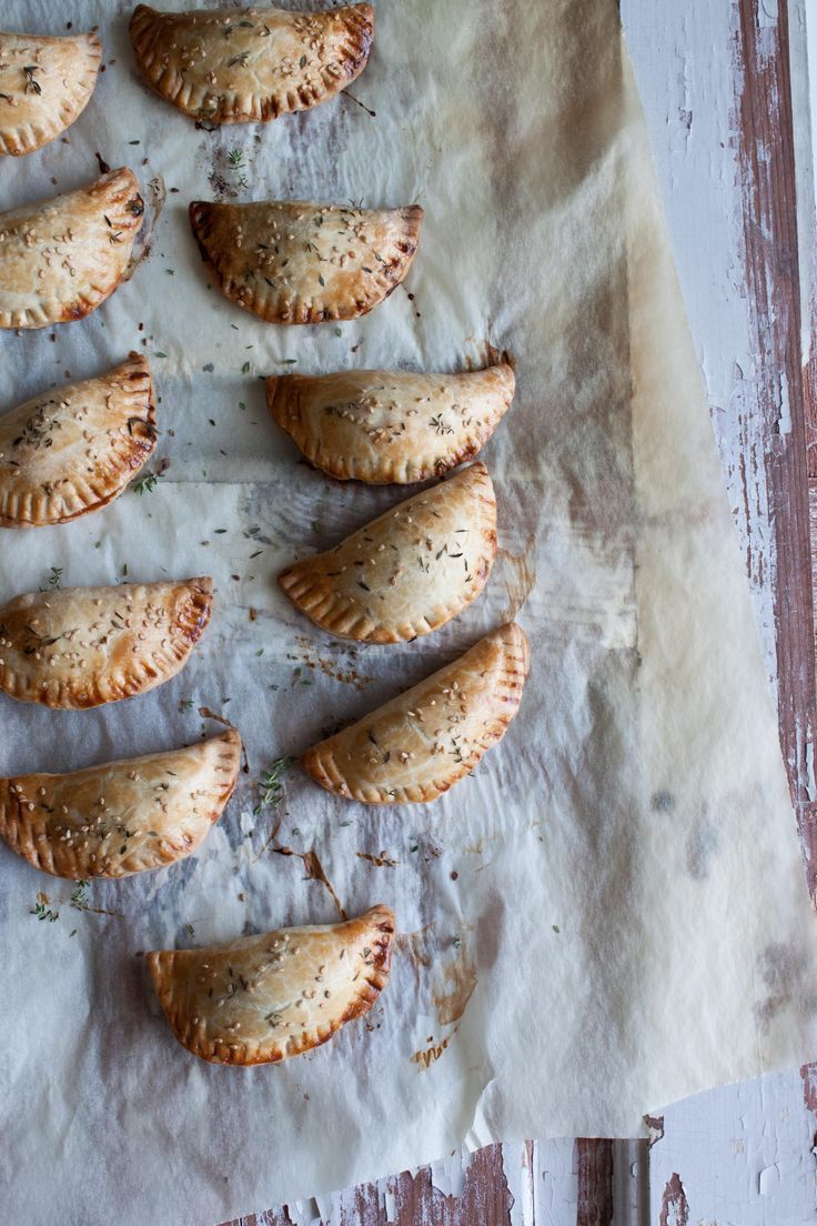 Spinach and Cheese Spelt Empanadas by Little Upside Down Cake