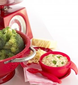Annabel Karmel Salmon, Broccoli & Cheese Sauce