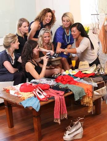 "Top 10 Closet Organizing Tips - some creative ways to clear the clutter from your closets!, including holding a ""Swap 'N Shop"" party."