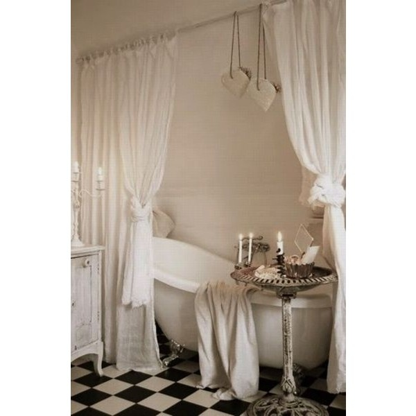 Pinterest / Search results for shabby chic bathroom ❤ liked on Polyvore