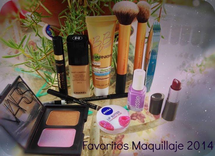 Cata Martínez N: Favoritos 2014: Maquillaje