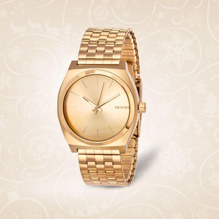 Zegarek Nixon. Model Time teller all gold/ gold  Cena: 399 PLN  http://www.yes.pl/48997-zegarek-nixon-TC31266-SES00-000000-000