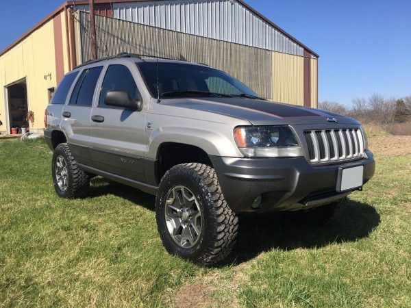2001 Grand Cherokee With A Cummins B3 3 Turbo Diesel Inline Four Jeep Grand Cherokee Jeep Grand Cherokee Limited