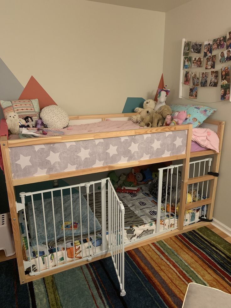 Cribs To College Bunk Beds 2021 In 2020 Ikea Toddler Room Baby Bunk Beds Toddler And Baby Room