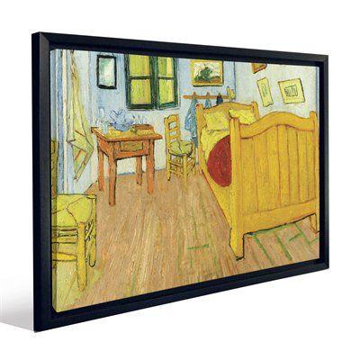 JP London FCNV2290 Van Gogh Bedroom in Arles Framed Art