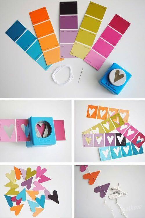 Valentínske kreatívne nápady