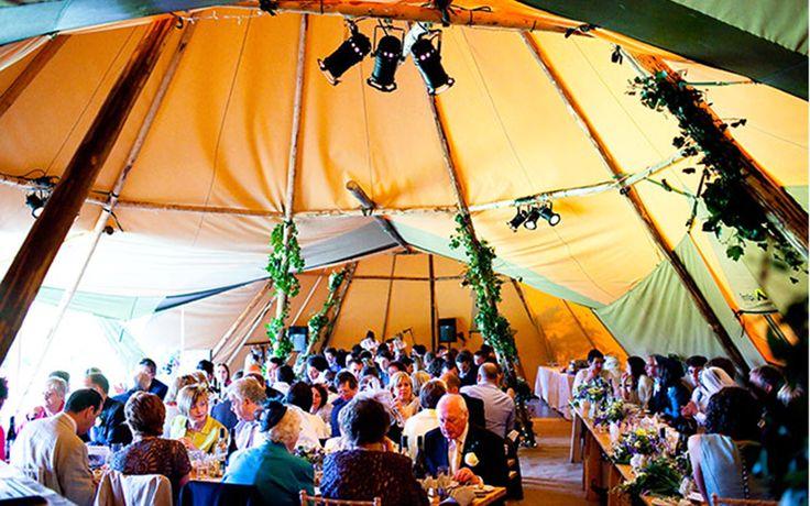 Topkata Teepee Wedding Tent