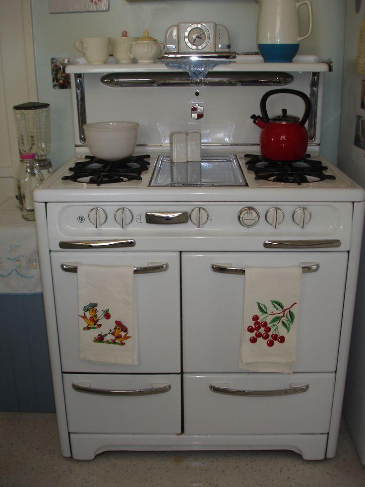 just like grandmau0027s house vintage stove embroidered