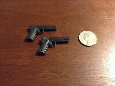 nice Soldiers of the World .45 M1911 PISTOL (x2) 12 Inch 16 Scale LOOSE Guns - For Sale Check more at http://shipperscentral.com/wp/product/soldiers-of-the-world-45-m1911-pistol-x2-12-inch-16-scale-loose-guns-for-sale-2/