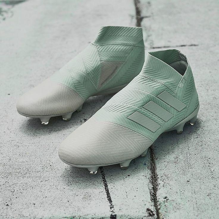 chaussures de football homme - adidas Nemeziz 18 FG - Argent ...