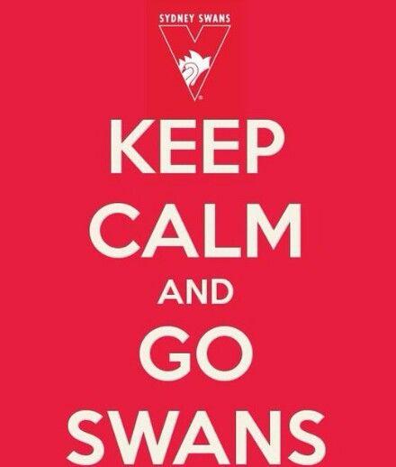 KEEP CALM GO SWANS