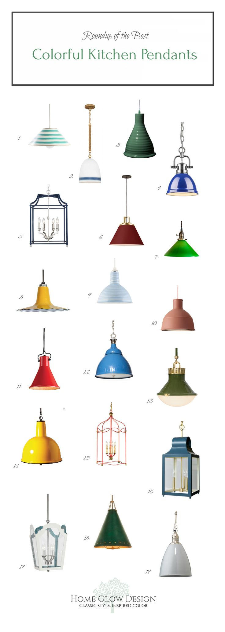 Roundup Colorful Kitchen Island Lanterns Pendants