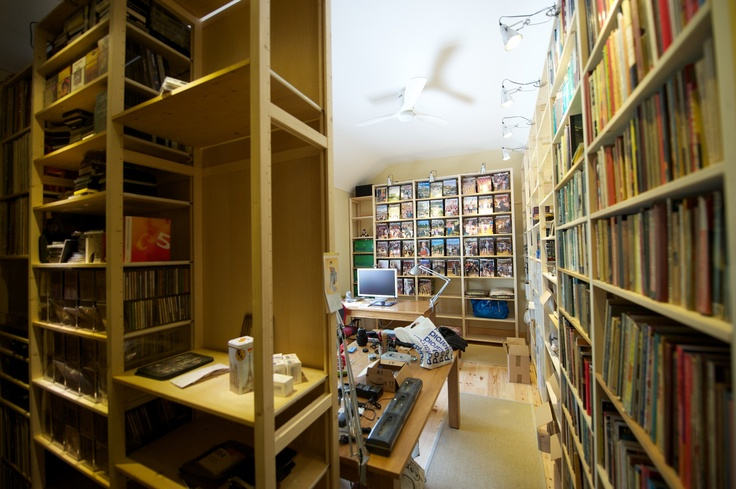 Room Kitted out with Lundia Shelving
