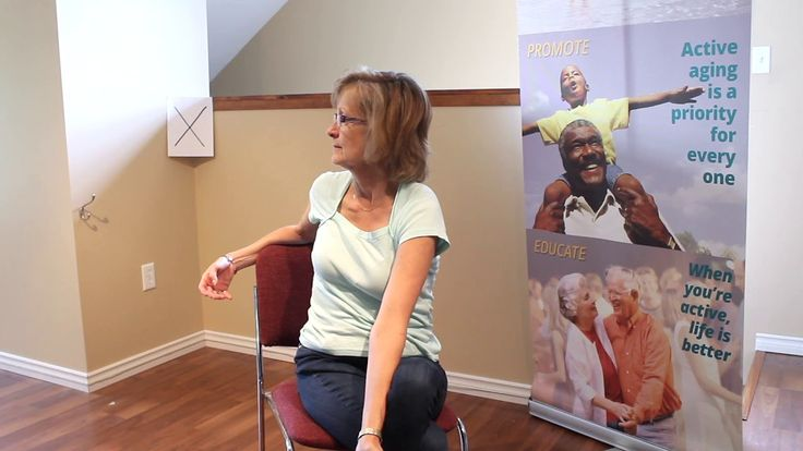 Active Aging Video - Sit and Turn #centre4activeliving #olderadult #senior #physicalactivity #activeagingvideo