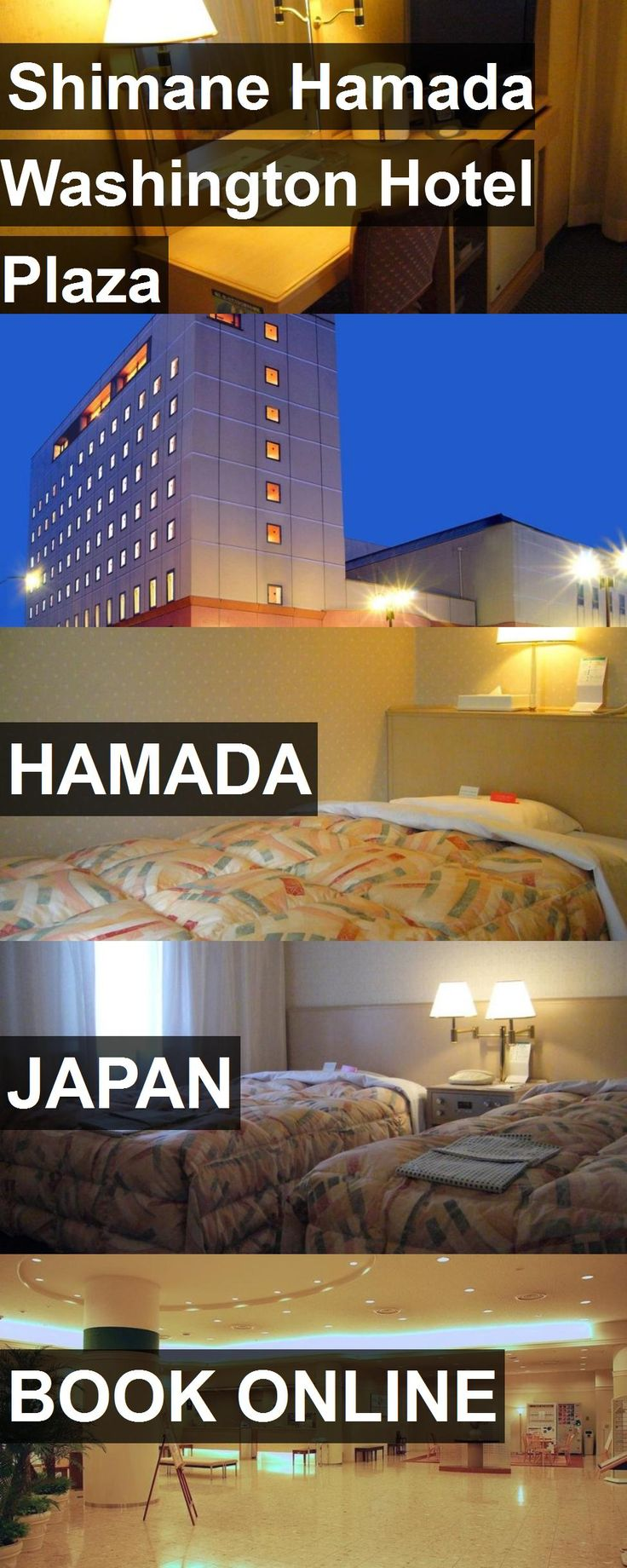Shimane Hamada Washington Hotel Plaza in Hamada, Japan. For more information, photos, reviews and best prices please follow the link. #Japan #Hamada #travel #vacation #hotel