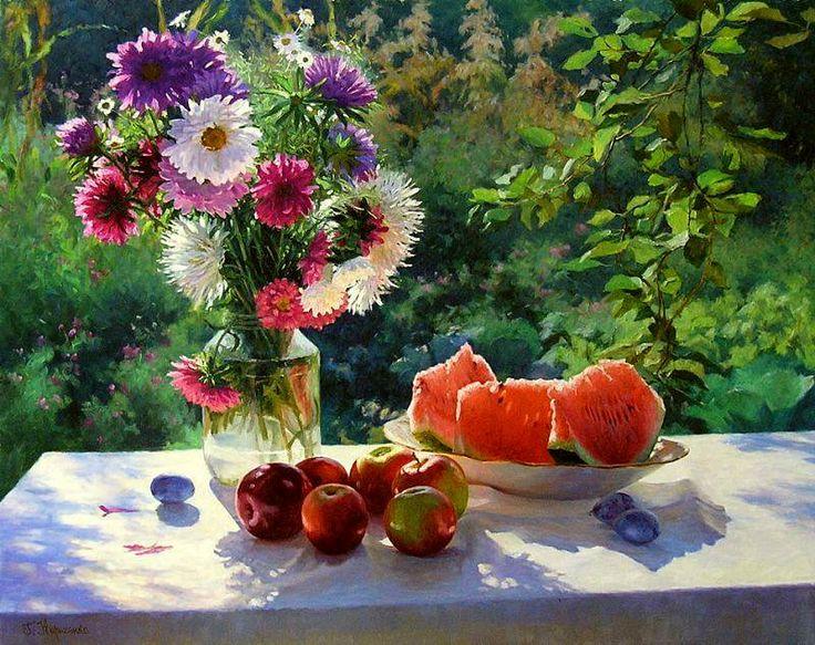 Still Life sunny summer / Gennady Kirichenko. Discussion on LiveInternet - Russian Service Online Diaries