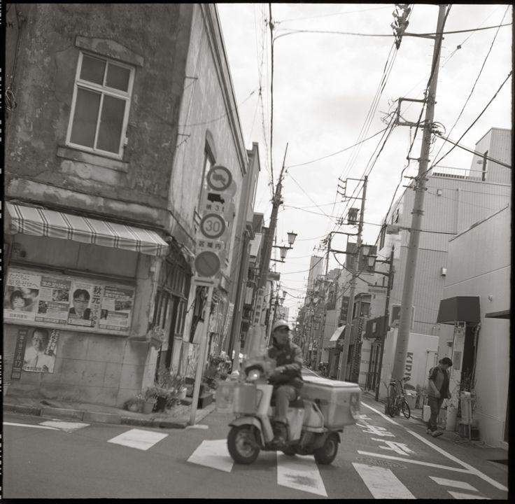 moominsean | Tomigaya, Tokyo | Yashica Rookie, Fuji Acros