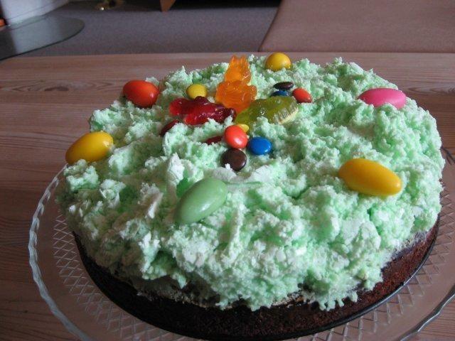 Limetten-Schmand-Kuchen