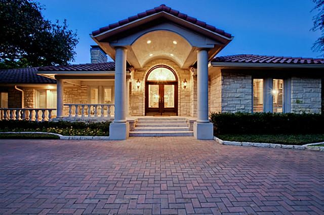 Beautiful One Story Home In The Strait Lane Neighborhood Of Dallas Texas At Ebby Our News Pinterest House And Plans
