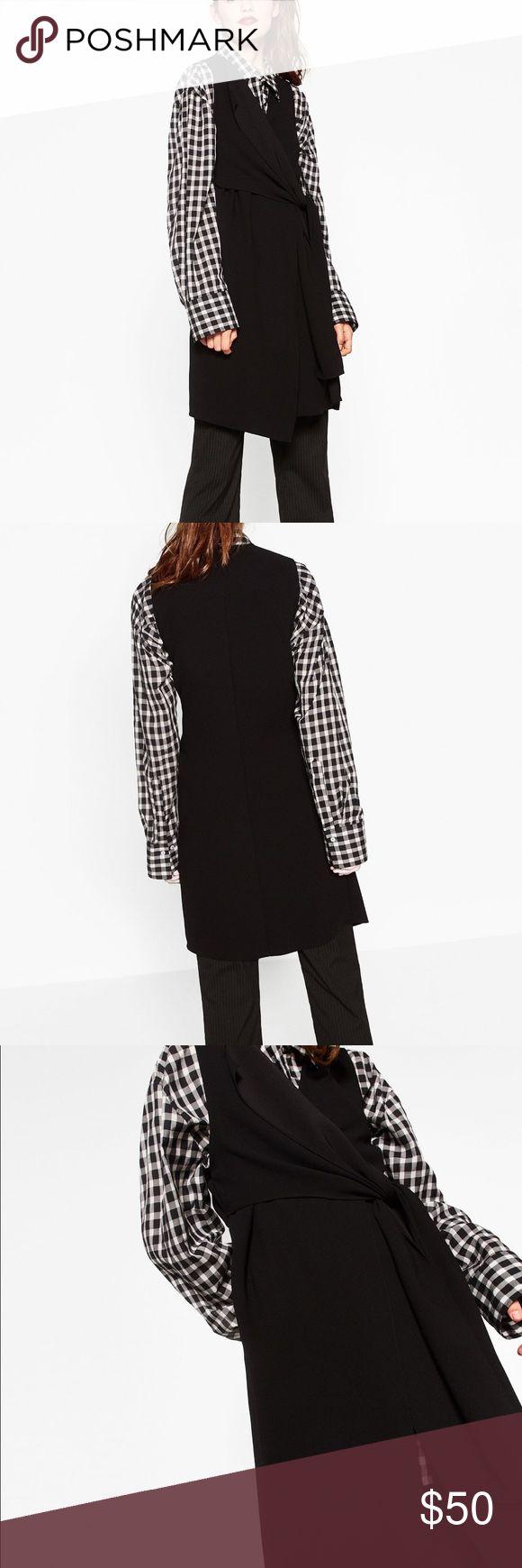 Zara black waistcoat Brand new with tag Zara Jackets & Coats