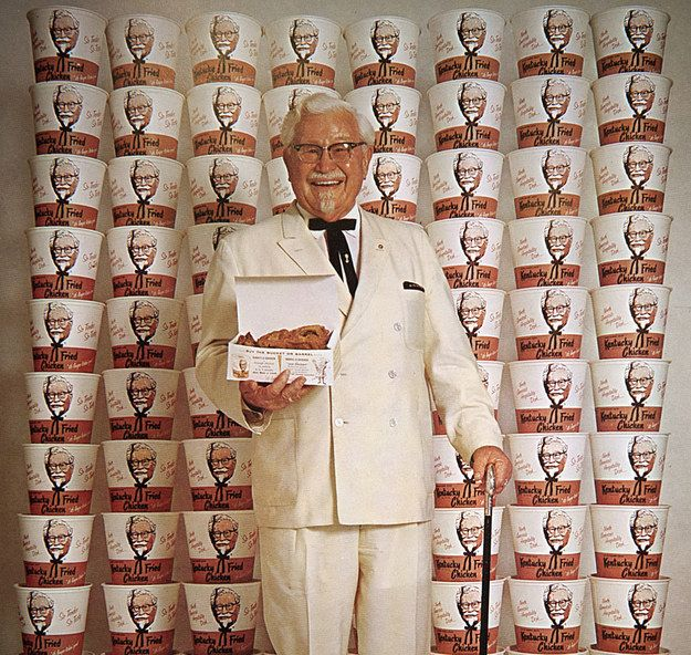 "Everything You Don't Know About The Real Colonel Sanders - BuzzFeed News. Harland Sanders was a foul-mouthed, violent, horny old coot, but he was a hard worker and gave most of his money away to the ""Salvational Army"""