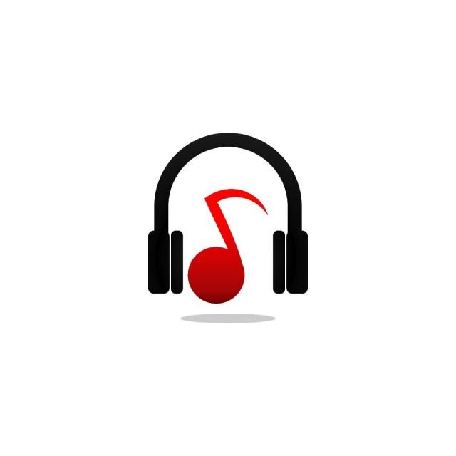 Headphone And Note Music Logo And Icon Design Template Music Clipart Music Icons Logo Icons Png And Vector With Transparent Background For Free Download Music Logo Music Logo Design Music Logo