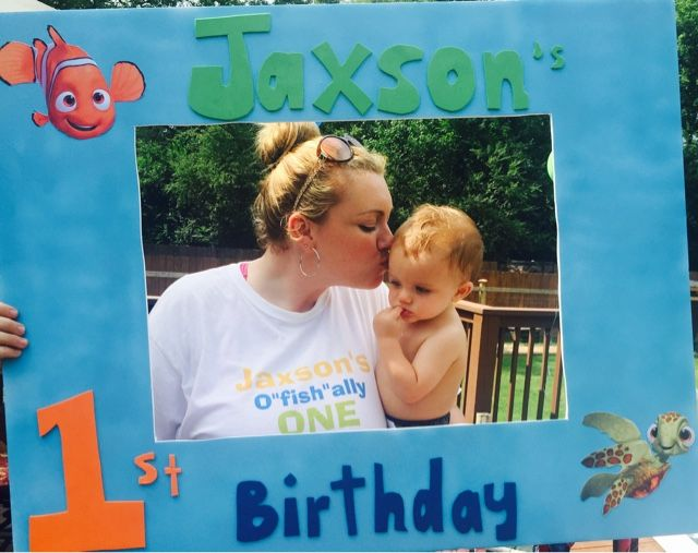 "The Life of Mrs ReaRea: Jaxson is O""fish""ally ONE"