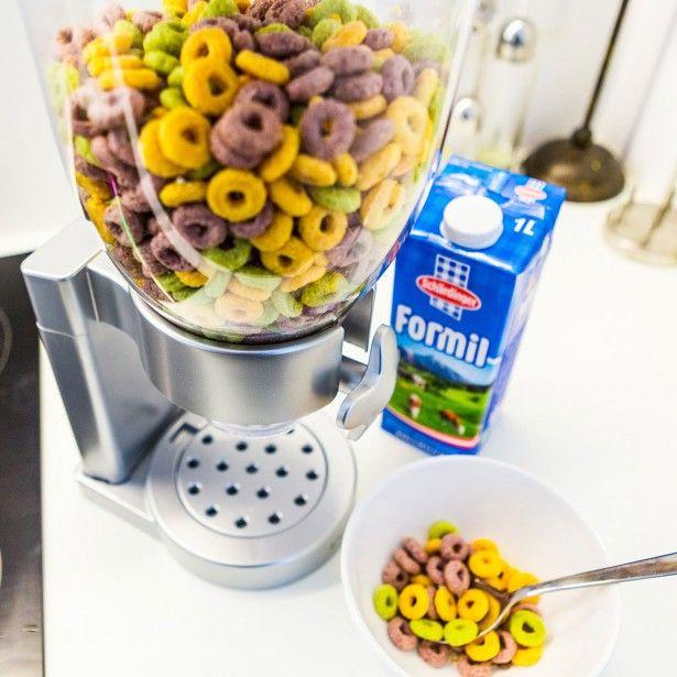 Distributeur de céréales, pour mueslis & Co.