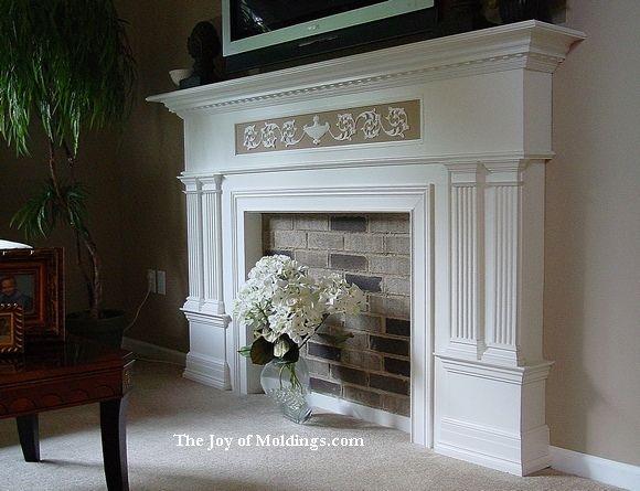 faux fireplace mantel ideas google search