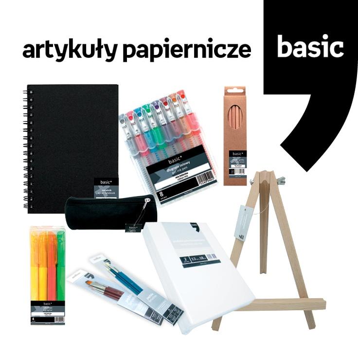 Czy są tu miłośnicy minimalizmu? Polecamy Wam proste i eleganckie artykuł papiernicze z Empikowej linii Basic. Podstawa zawartości plecaka czy torebki :)