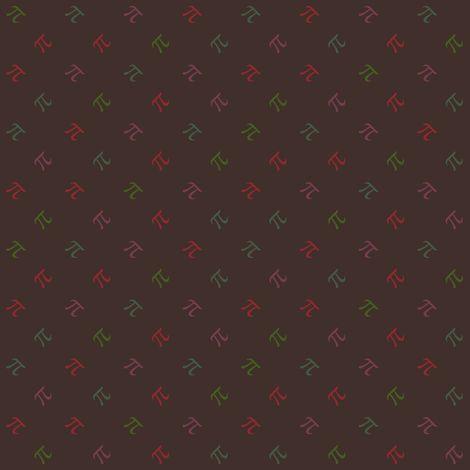 Pi Diamonds - autumn rainbow fabric by weavingmajor on Spoonflower - custom fabric